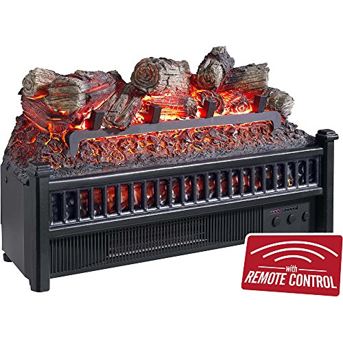 Comfort Glow Electric Log Set with Heater (Decorative Electric Fireplace)