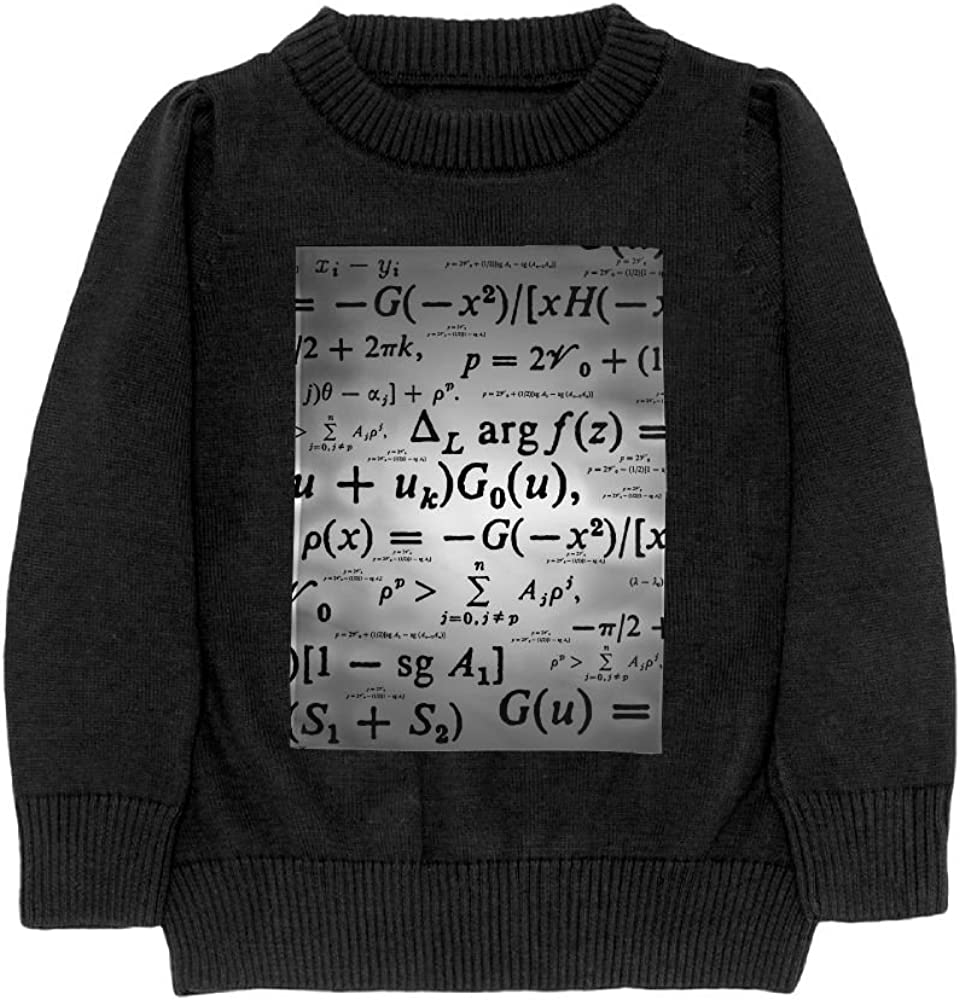DTMN7 Math Teens Sweater Long Sleeves Crew-Neck Youth Athletic Casual Tee Junior Boys