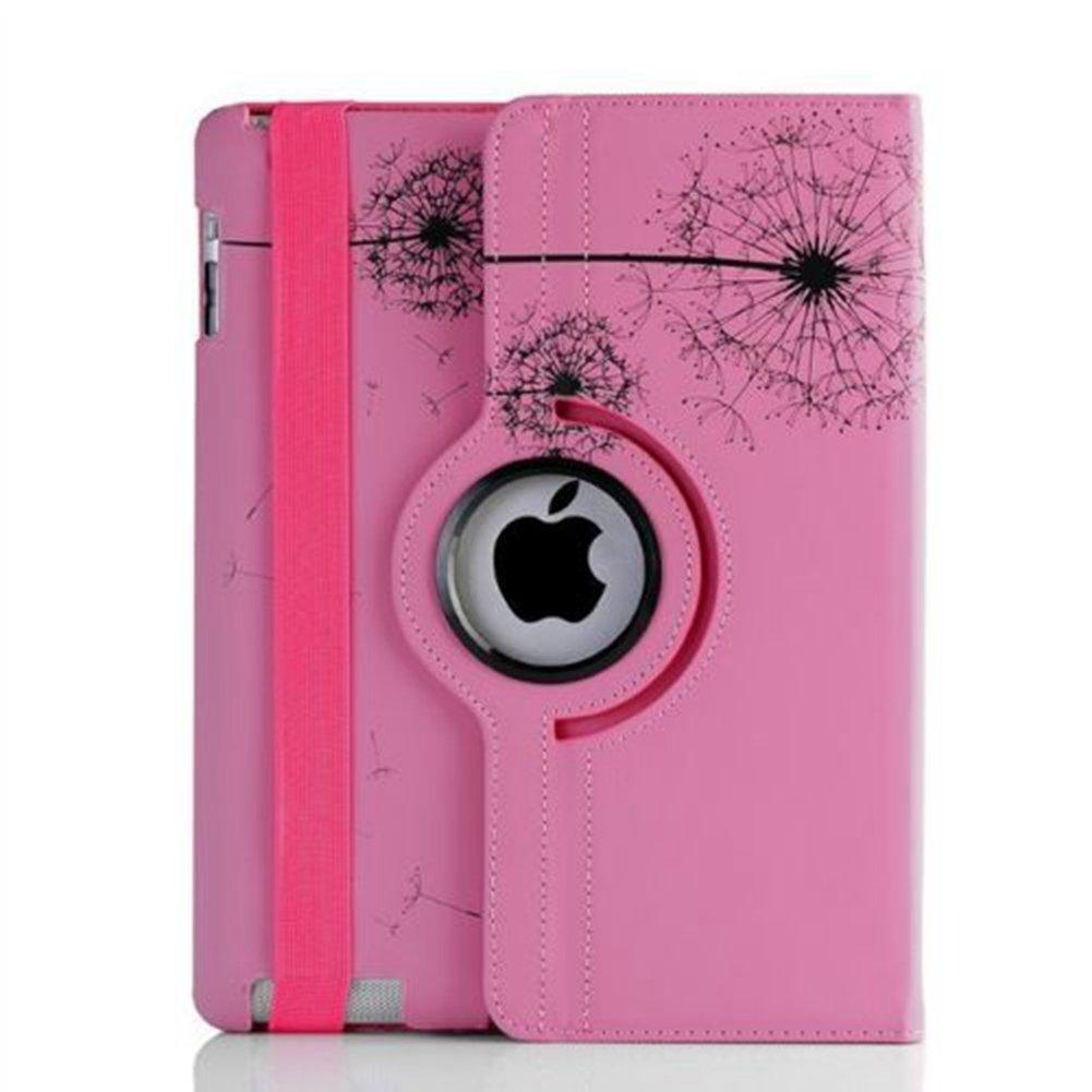 TOPCHANCES iPad Proケース 2015スマートカバーケース iPad Pro 12.9インチタブレット 無料スタイラスペン ピンク B01M4PDRA5 ピンク ピンク