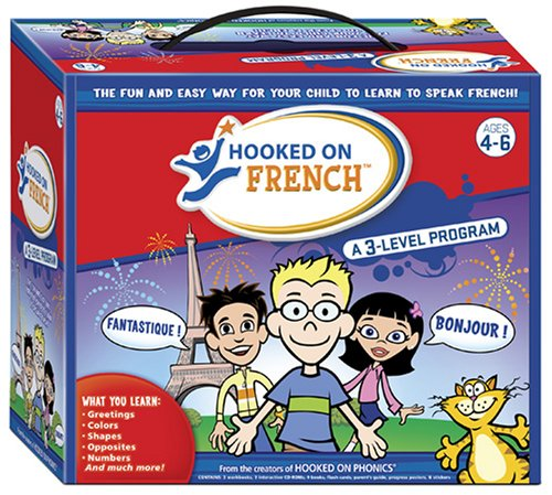 (Hooked on French: A 3 Level program (English and French)