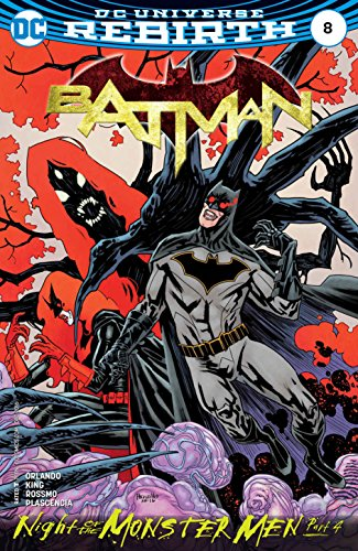 Dark Bat Attack Knight (DC Universe Rebirth Batman #8 (2016-))