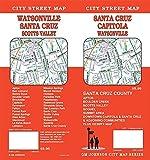 Santa Cruz / Watsonville / Capitola, California Street Map