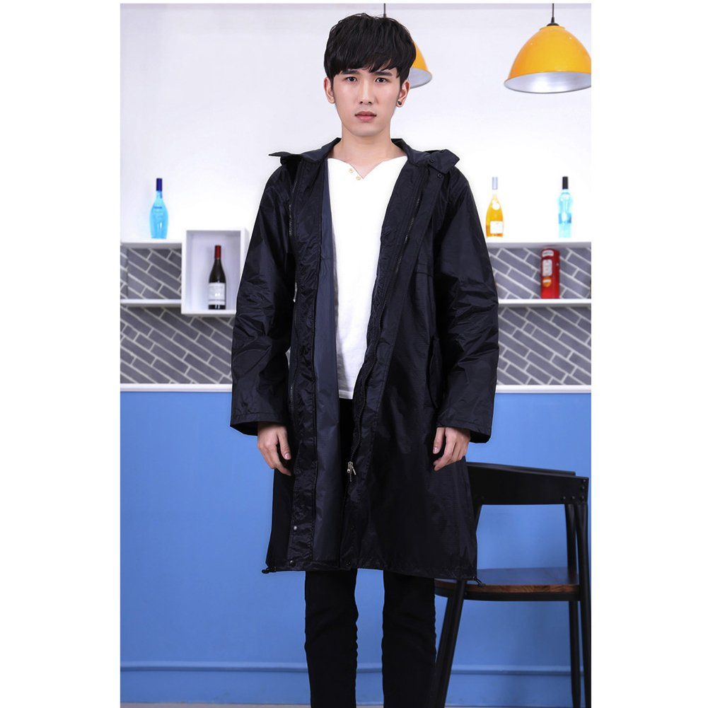 2 Raincoat Adult XL Long Waterproof Trench Coat Breathable Fashion Trekking Thin Poncho Portable