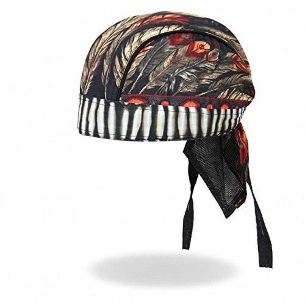 Authentic Bikers Premium Headwraps- High Quality Micro-Fiber & Mesh Lining HEADWRAP vikHWH1073