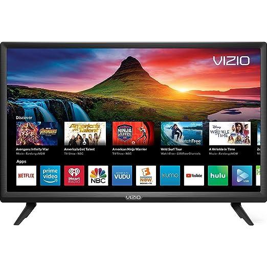 "VIZIO D-Series 24"" Class LED HDTV Smart TV - D24f-G9 (Renewed)"