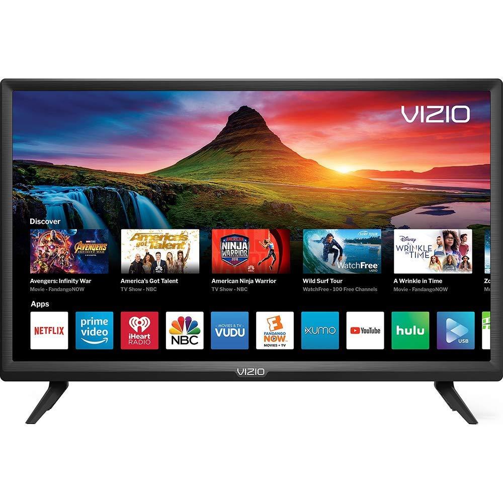 VIZIO D-Series 24'' Class LED HDTV Smart TV - D24f-G9 (Renewed)