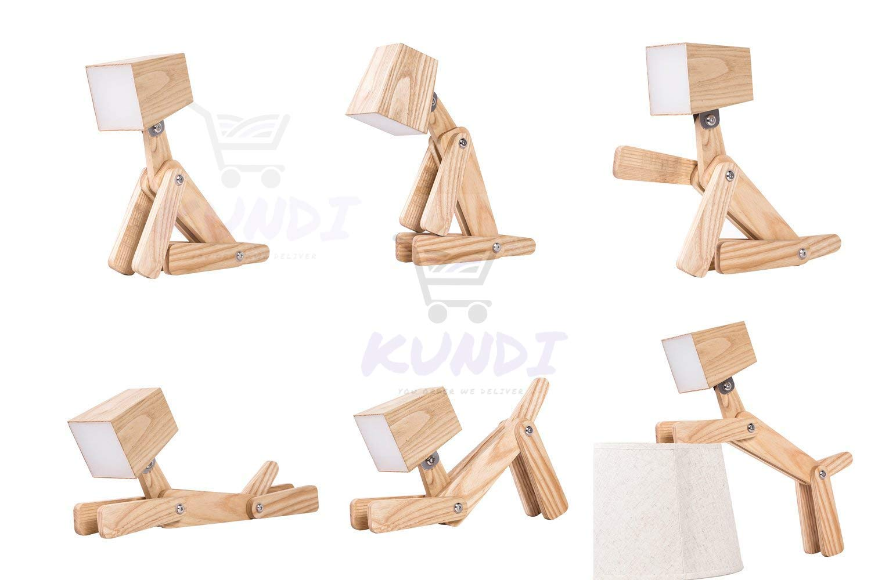 Kundi LED Table lamp Modern Cute Dog Study Lamp for Children White Light Table Lamps