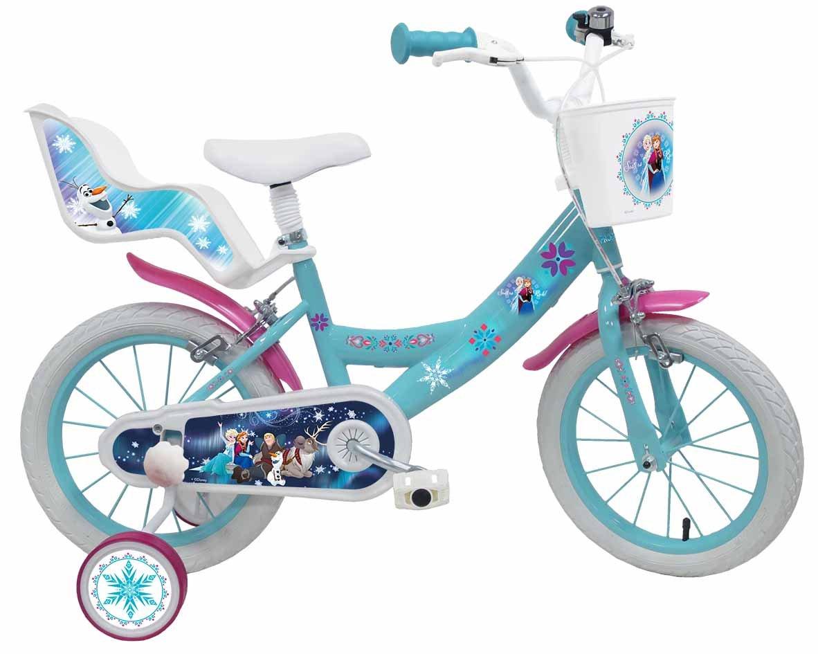 """Vuelta de 10 dias Denver Bike 2295 Niñas Ciudad Ciudad Ciudad 14"""" Acero Azul, Blanco bicicletta - Bicicleta (Vertical, Ciudad, 35,6 cm (14""""), Acero, Azul, Blanco, 35,6 cm (14""""))  bajo precio"""