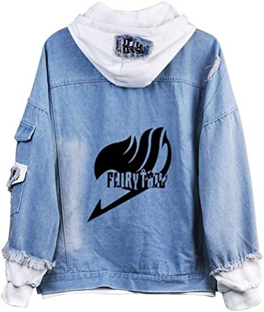Gumstyle Fairy Tail Anime Unisex Full-Zip Hoodie Coat Winter Thicken Fleece Warm