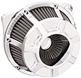Arlen Ness 18-932 Chrome Inverted Series Air Cleaner Kit