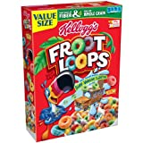 Kellogg's Froot Loops Cereal, 21.7 Ounce (Pack of 8)