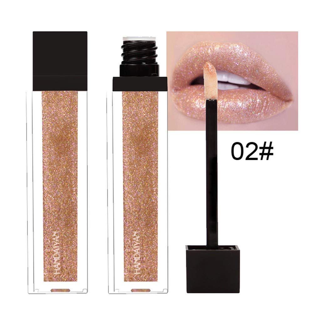 Makeup Lips- NEEKEY Pearly Matte Non-Stick Cup Lip Gloss Lipstick Queen