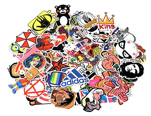 Love Sticker Pack 100-Pcs Sticker Decals Vinyls for Laptop,Kids,Cars,Motorcycle,Bicycle,Skateboard Luggage,Bumper Stickers Hippie Decals bomb (Buy A Hoverboard)