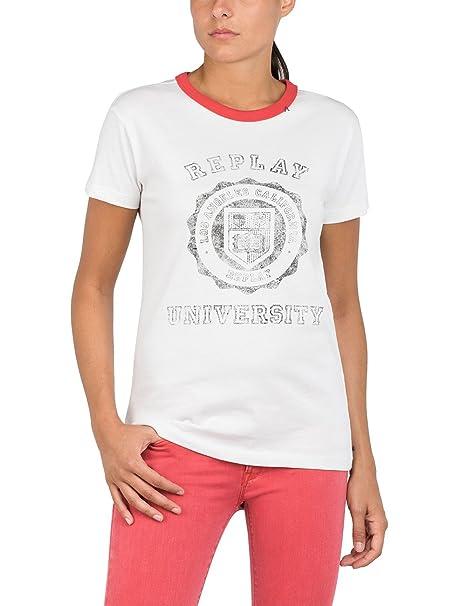 Para Camiseta Accesorios Y es Amazon Mujer Replay Ropa 6ZTqwq5