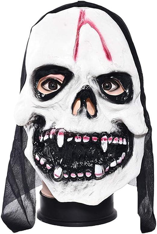 Hergon máscara de Terror de Halloween, máscara de Disfraz de ...