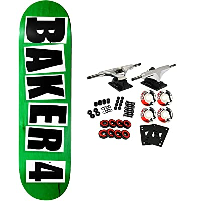 "Baker Skateboard Complete 4 9.25"" (Assorted Colors) : Sports & Outdoors"