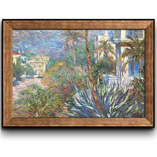 Villas at Bordighera by Claude Monet Framed Art