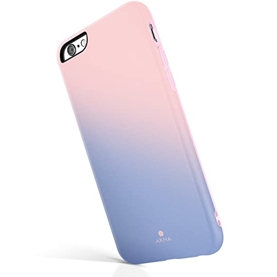 save off 47ec0 8e2c5 iPhone 6/6s case for Girls, Akna Get-It-Now Collection High Impact Flexible  Silicon Case for Both iPhone 6 & iPhone 6s [Rose Quartz Serenity](21-US)