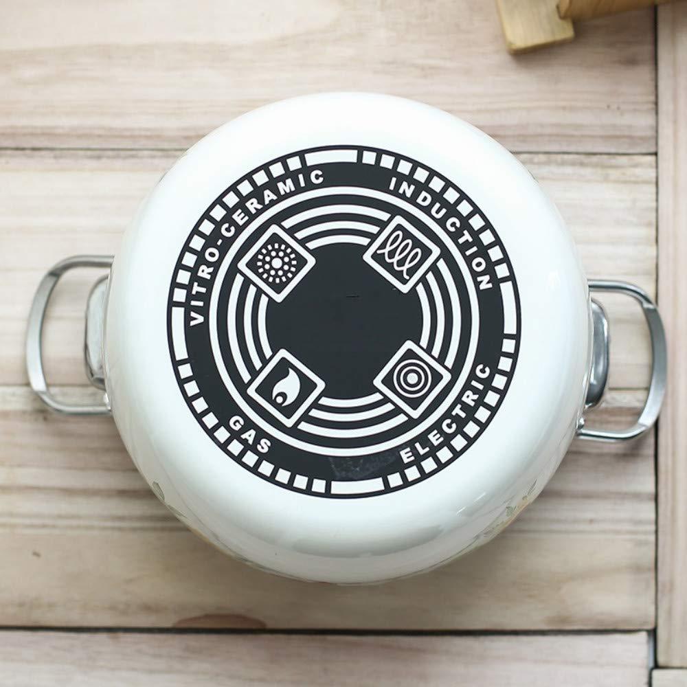 Cacerolas Cazo Ceramica Olla Olla Esmaltada China De Gran Capacidad Para Ollas De Sopa Ollas Engrosadas 煲 Olla De Sopa Olla A Gas Cocina Universal 5L: ...