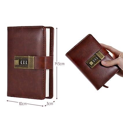 YWHY Cuaderno A7 Pocket Notebooks Revistas Agenda Agenda ...