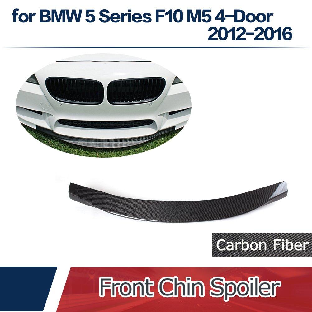 Jcsportline fits BMW 5 Series F10 M5 4-Door 2012-2016 Carbon Fiber Front Chin Spoiler