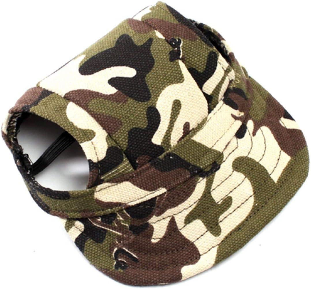 XinGiao Dog Hat Pet Baseball Cap Visor Cap Costume for Cat Sombrero Dog Plus Hat Fashion Cool Adjustable Buckle Black