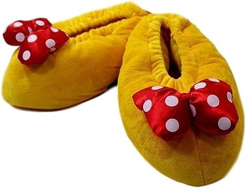 Disney Mickey Mouse Minnie Mouse Slippers Plüsch 3 D Hausschuhe 25 bis 30 NEU