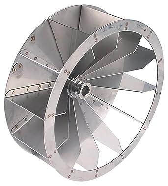 Moretti - Rueda de ventilador para horno de pizza T97E (diámetro ...