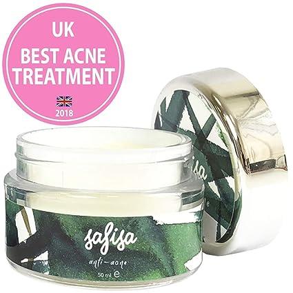Tratamiento antiacné para la cara, rico en ácido salicílico, manteca de karité orgánica, aceite de oliva ...