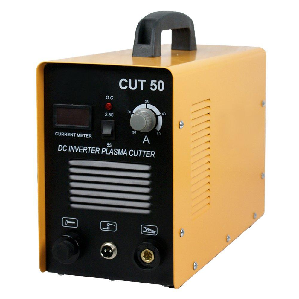 Super Deal Plasma Cutter Cutting 50AMP CUT-50 Digital Inverter 110-220V Welding Welder Cutting Machine Dual Voltage w/ Free Mask