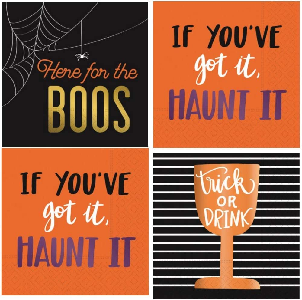 Halloween Words Napkins