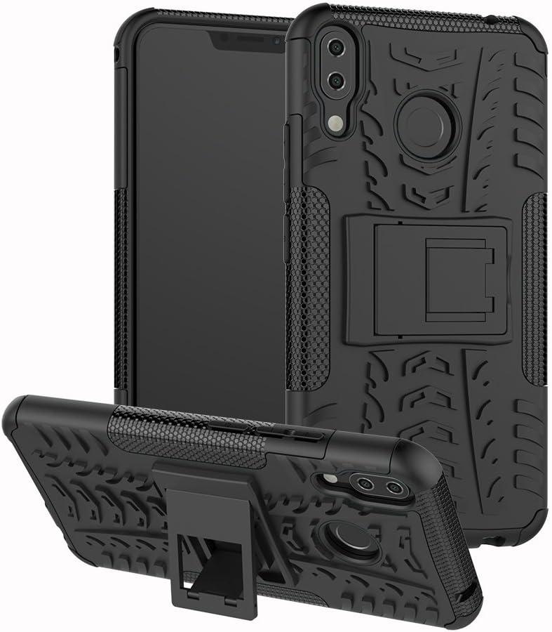 Zenfone 5 ZE620KL / 5Z ZS620KL Funda, FoneExpert® Heavy Duty silicona híbrida con soporte Cáscara de Cubierta Protectora de Funda Caso para Asus Zenfone 5 ZE620KL / Zenfone 5Z ZS620KL (6.2