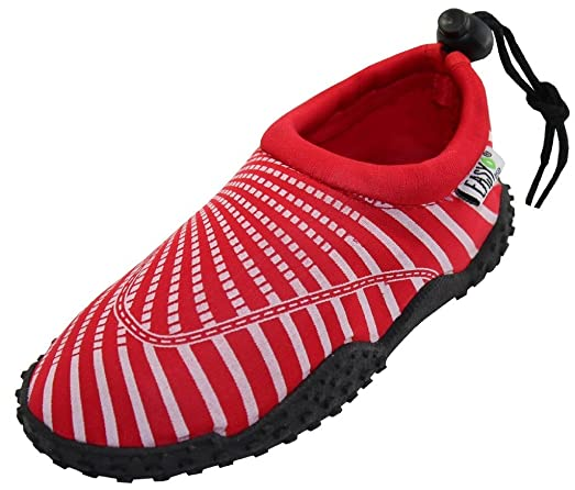 Womens Water Shoes Aqua Socks Pool BeachYogaDance and Exercise 1177 Red 11