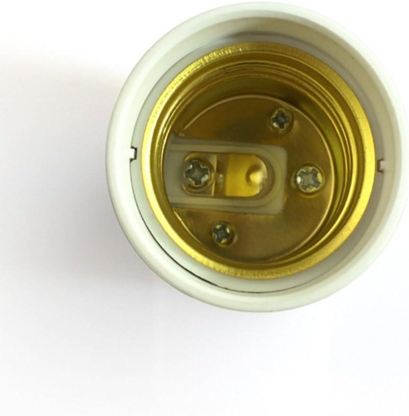 MFINHOME 2PCS GU24 to E26//E27 Adapters