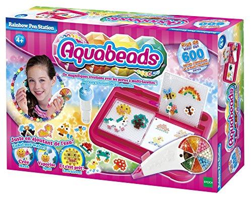 Aquabeads - 79518 - Kit De Loisirs Créatifs - Rainbow Pen Station