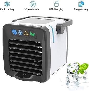 ACZZ Refrigerador, 3 velocidades Mini aire acondicionado Mini aire ...