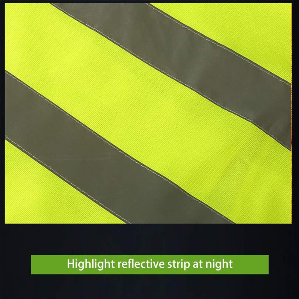 Course /à Pied Gilets De S/écurit/é R/éfl/échissants Jogging GFEU Haute Visibilit/é Fluorescent R/éfl/échissants Gilet Apte /à /Équitation Marche Cyclisme Orange