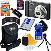 Sony Cyber-shot DSC-W800 20.1 MP Digital Camera with 5x Zoom and Full HD 720p Video (Black) - International Version + NP-BN1 Battery + 8pc 16GB Accessory Kit w/ HeroFiber® Ultra Gentle Cleaning Cloth Key Pieces Review Image