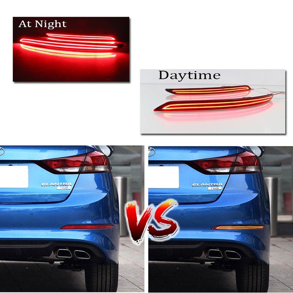 Hyundai Elantra: High mounted stop light replacement