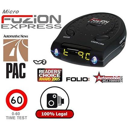 Scenic velocidad Detector de cámara/Velocímetro/0 – 60 MPH velocidad Prueba Digital Speedo