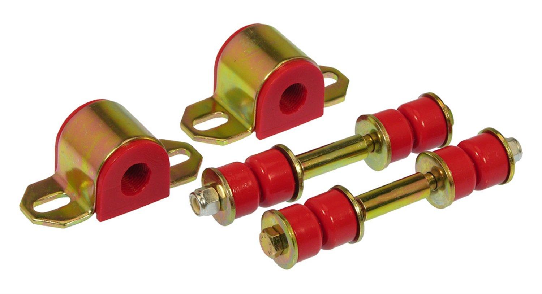 Prothane 7-1129 Red 19 mm Rear Sway Bar Bushing Kit by Prothane