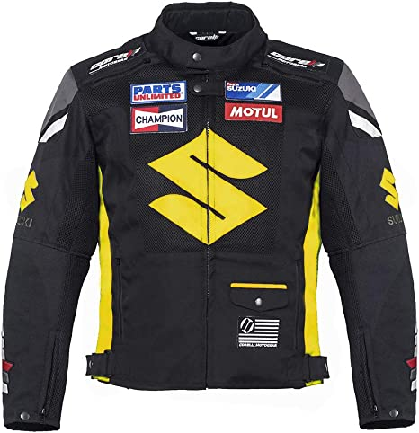 Amazon.com: Corelli MG Suzuki - Chaqueta de moto, color ...