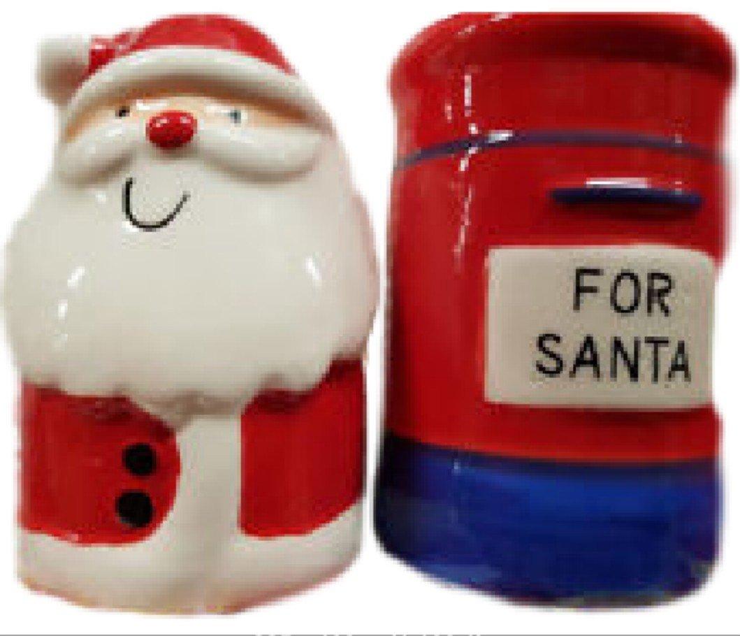Neue Weihnachten Geschirr ~ Vater Weihnachten & Briefkasten ~ Salz ...