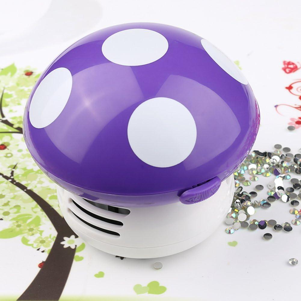 Mignon seta Mini Aspirador de mesa Alimentado polvo aspirador de ...