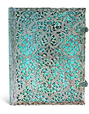 Paperblanks Hardcover Journal Maya Blue | Lined | Ultra (180 × 230 mm)