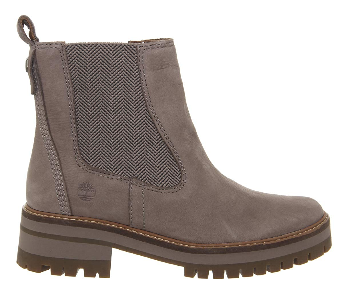 18274421f1 Amazon.com   Timberland Womens Courmayeur Valley CH Taupe Nubuck Leather  Ankle Boots Size   Shoes