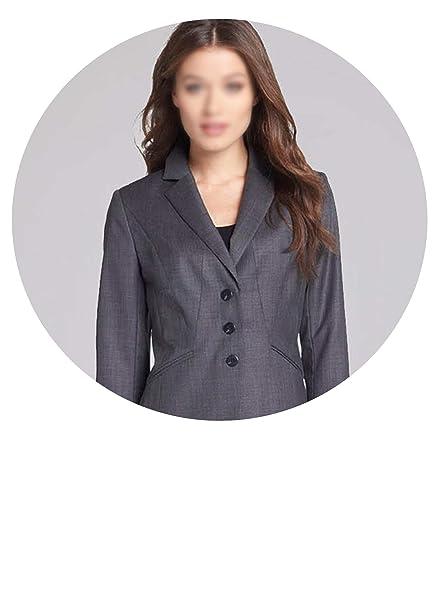 Amazon.com: Traje de trabajo para mujer, traje de oficina ...