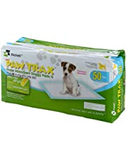 Richell 94542 Paw Trax Super Absorbent Training Pads, 50-Pack