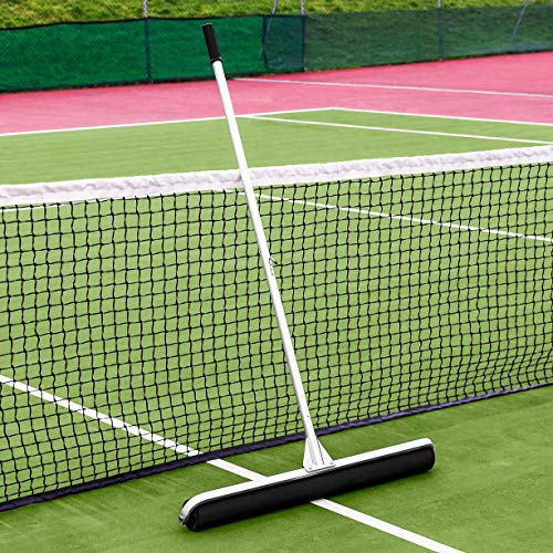 - Vermont Rol-Dri Tennis Court Roller Squeegee [PU Foam] | Absorb Water from Your Tennis Courts (36in Sweep)