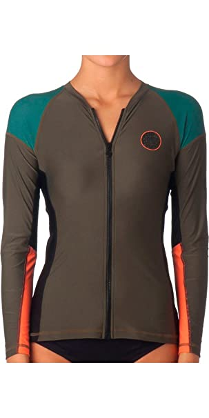 RIP CURL Ladies Dawn Patrol Long Sleeve Rash Vest Fatigue WLH4IW  Amazon.co.uk   Sports   Outdoors 9a93d2f28